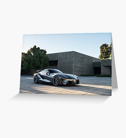 Toyota FT-1 Greeting Card
