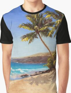 Big Island Getaway - Hawaiian Beach Seascape Graphic T-Shirt