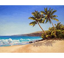 Big Island Getaway - Hawaiian Beach Seascape Photographic Print