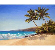 Big Island Getaway - Hawaiian Beach Seascape Photographic Print