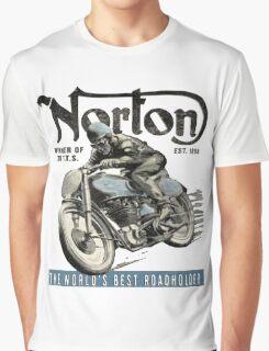 NORTON TT VINTAGE ART Graphic T-Shirt