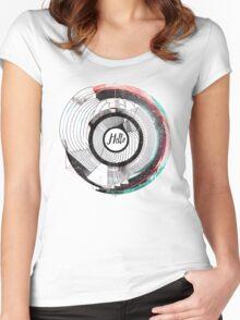 Hello Escher  Women's Fitted Scoop T-Shirt
