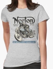 NORTON TT VINTAGE ART Womens Fitted T-Shirt