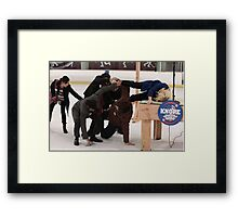 Parks And Recreation - Knope 2012  Framed Print