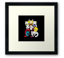 Undertale Everyone Framed Print