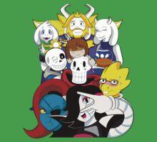 Undertale Everyone One Piece - Short Sleeve