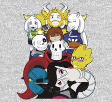 Undertale Everyone One Piece - Short Sleeve