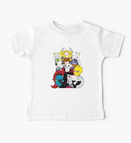 Undertale Everyone Baby Tee