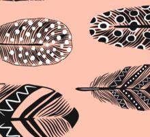 Feathers pattern Sticker
