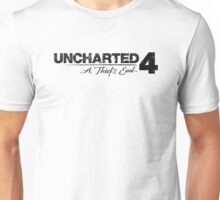 Uncharted 4 - Logo  Unisex T-Shirt