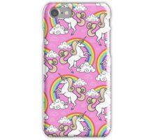 Unicorns pattern iPhone Case/Skin