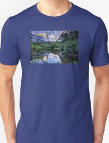 Mirror Lake - Yosemite National Park  Unisex T-Shirt