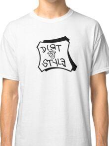 Dirt Style Records logo DJ Q-bert/Piklz Classic T-Shirt