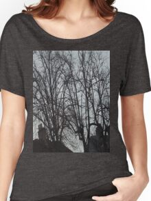 Tall Tree Rooftops Women's Relaxed Fit T-Shirt