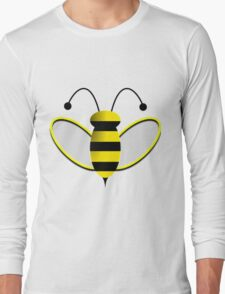 Animated Bumble Bee Long Sleeve T-Shirt