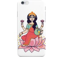 goddess Lakshmi iPhone Case/Skin