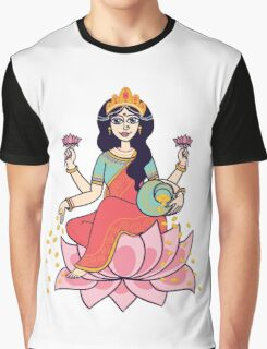 goddess Lakshmi Graphic T-Shirt