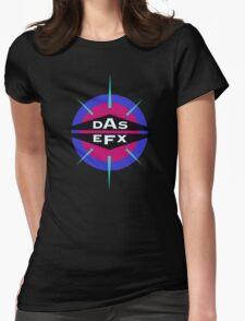 DAS EFX retro 90s logo tee Womens Fitted T-Shirt