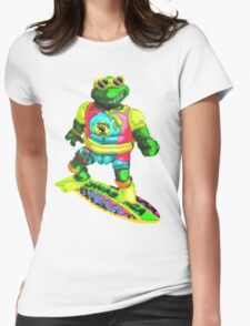 Psychedelic mikey Womens Fitted T-Shirt