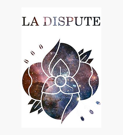 La Dispute - Galaxy TRANSPARENT DESIGN Photographic Print