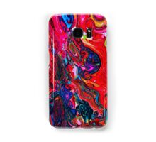 Red Abstract Samsung Galaxy Case/Skin