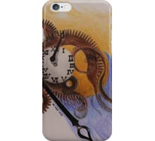When time stops iPhone Case/Skin