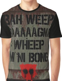 """Transformers - """"Bah Weep!"""" Graphic T-Shirt"""