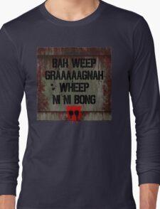 "Transformers - ""Bah Weep!"" Long Sleeve T-Shirt"