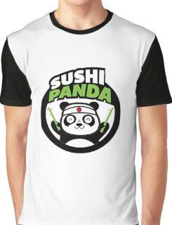 Sushi Panda Graphic T-Shirt