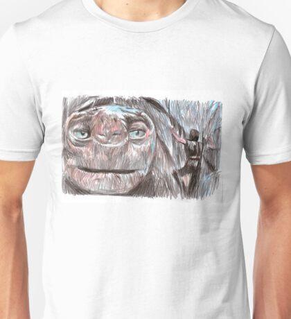 the neverending story film sketch Unisex T-Shirt