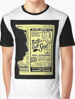 """Better Call Saul"" Graphic T-Shirt"