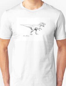 Chomper - Tyrannosaurus Rex Ink Drawing Illustration T-Shirt