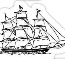 I SHIP STUCKY Sticker