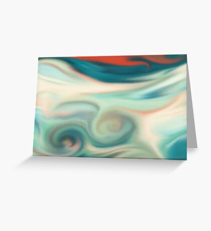 Digital painted texture retro pastel background. Abstract beautiful illustration, color, silk, liquid print. Greeting Card