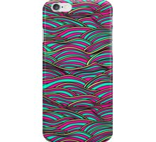 Abstract funky waves texture. iPhone Case/Skin