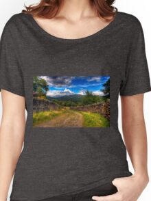 Autumn in Lake District Women's Relaxed Fit T-Shirt