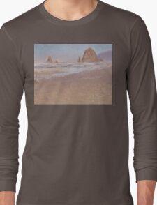 Edit Image  Delete Image  Upload New Image    PREV   |   NEXT        4       6       5    Coastal Escape Cannon Beach Oregon And Haystack Rock  Long Sleeve T-Shirt