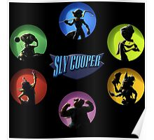 sly cooper all thieves Poster