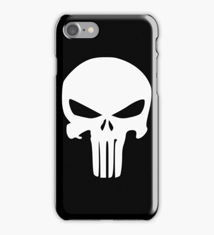 The Punisher Insignia iPhone Case/Skin