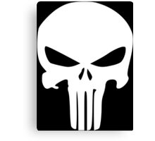 The Punisher Insignia Canvas Print