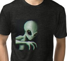 Alien Sighting (W/O date) Tri-blend T-Shirt
