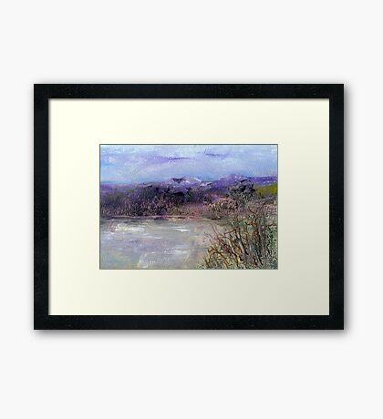 Moorland veiw 1 Framed Print
