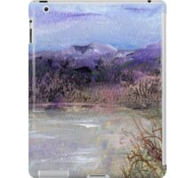 Moorland veiw 1 iPad Case/Skin