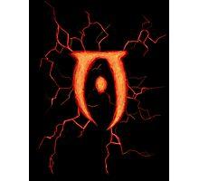 Oblivion Logo Photographic Print