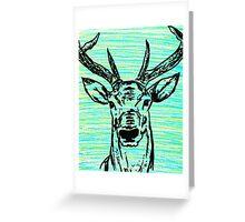 Arctic Deer Greeting Card