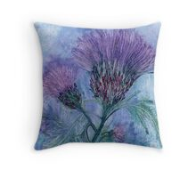 The Thistle Throw Pillow