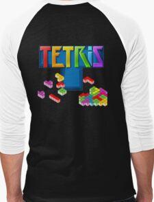 Tetris Themed Merchandise Men's Baseball ¾ T-Shirt