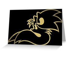 Sonic and tails. Greeting Card