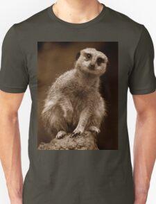 Meerkat Standing Sentry Unisex T-Shirt