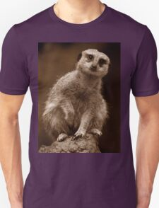 Meerkat Standing Sentry T-Shirt
